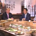 US-President-Trump-and-Japans-PM-Abe-Sit-Down-for-Traditional-Japanese-Dinner-150x150
