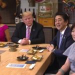 President-Trump-Participates-in-a-Couples-Dinner-with-the-Prime-Minister-of-Japan-150x150