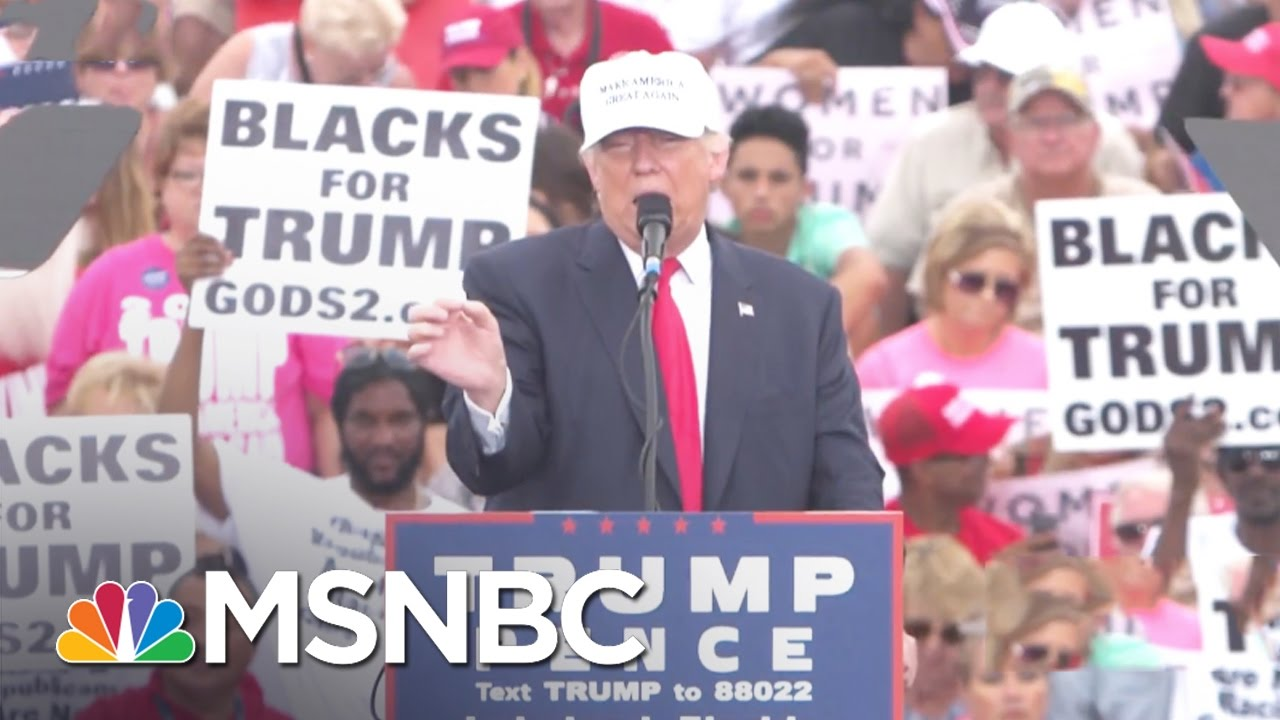 Donald Trump Embraces Black Supremacist Cultist Support