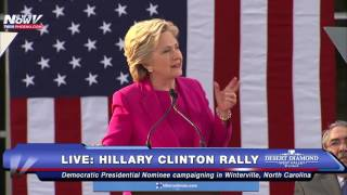 FULL: Hillary Clinton Rally in Winterville, North Carolina
