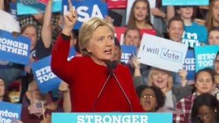 Hillary Clinton Full Speech at Grand Rapids, Michigan Rally