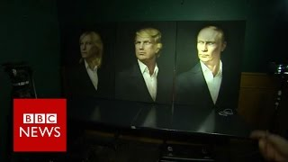 Election 2016: Russians hoping for President Trump – BBC News