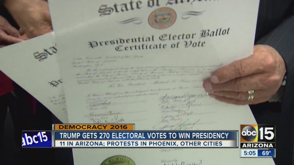 Donald Trump gets 270 votes to become U.S. president