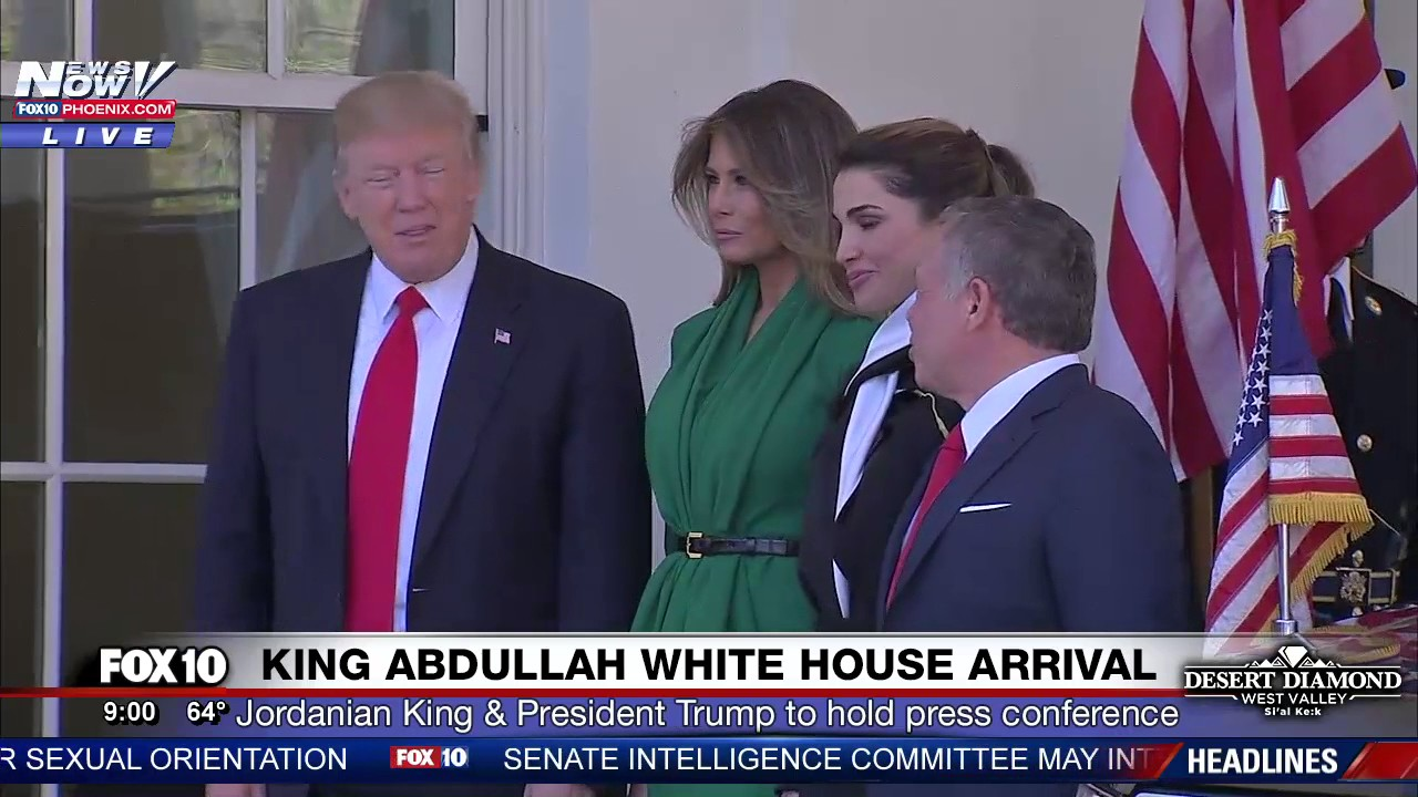 President-Trump-and-Melania-Trump-Welcome-King-Abdullah-and-Queen-Rania-of-Jordan-to-White-House
