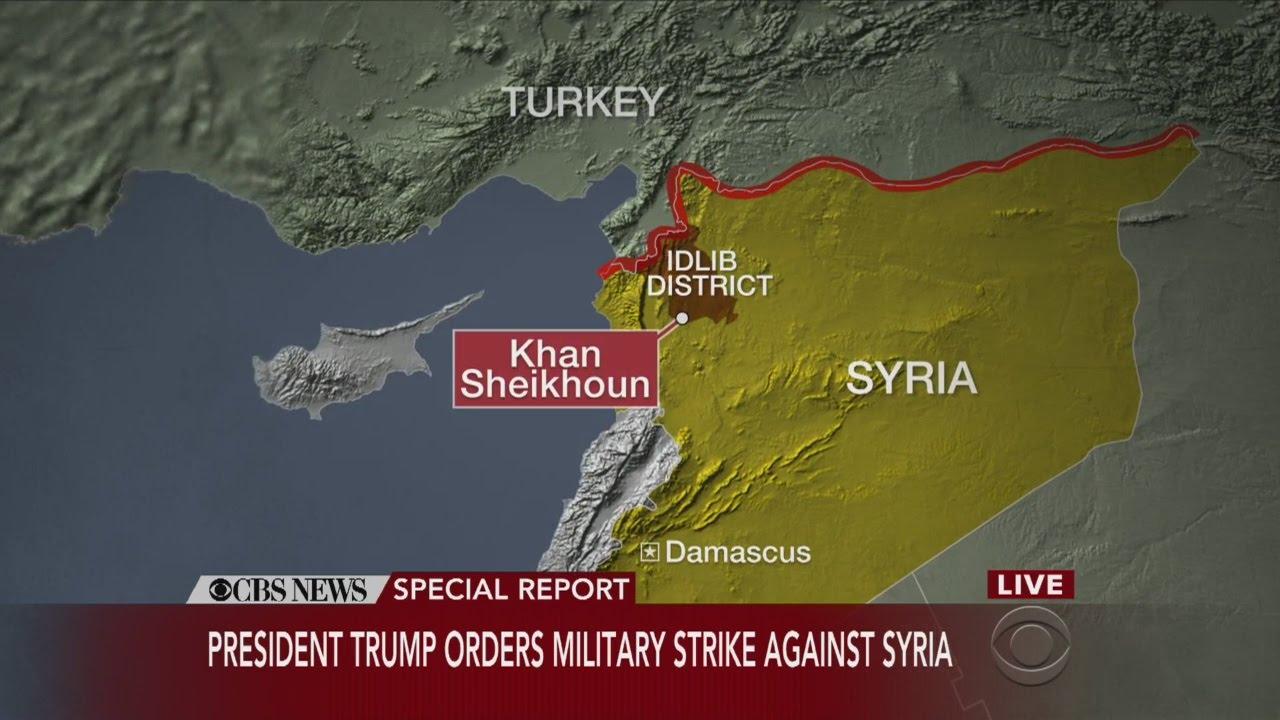 President-Trump-Orders-Military-Strike-Against-Syria