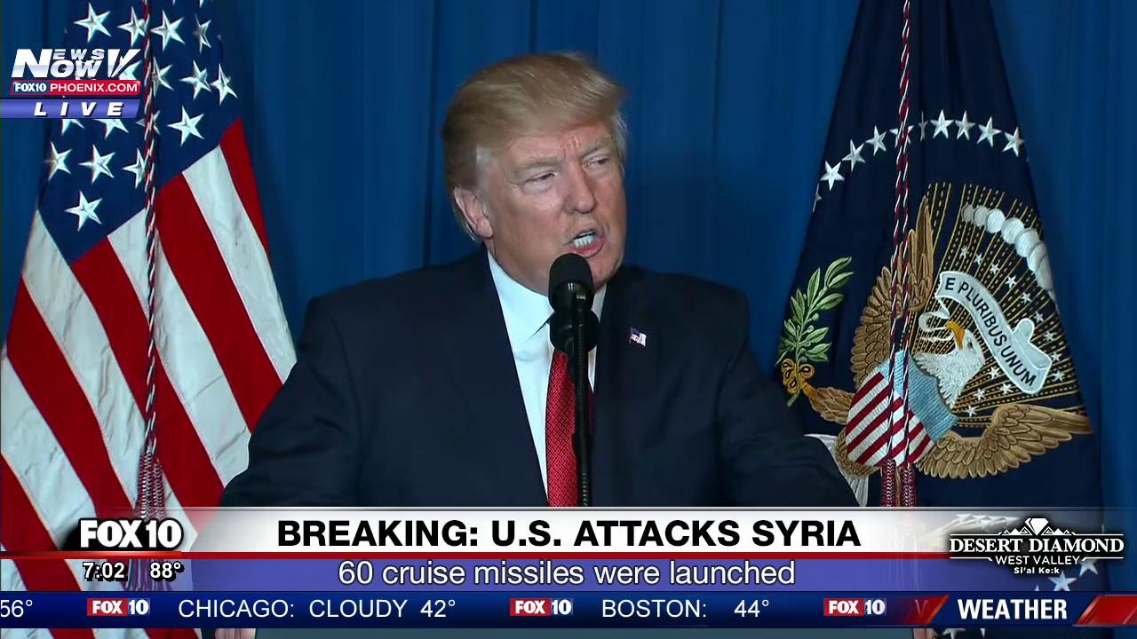 BREAKING-President-Trump-Announces-Syria-Attacks
