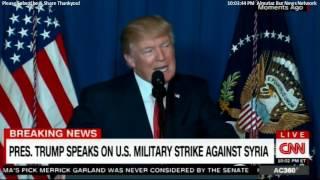 President-Donald-Trump-Speech-on-U.S.-Military-Strike-Against-Syria.-POTUS