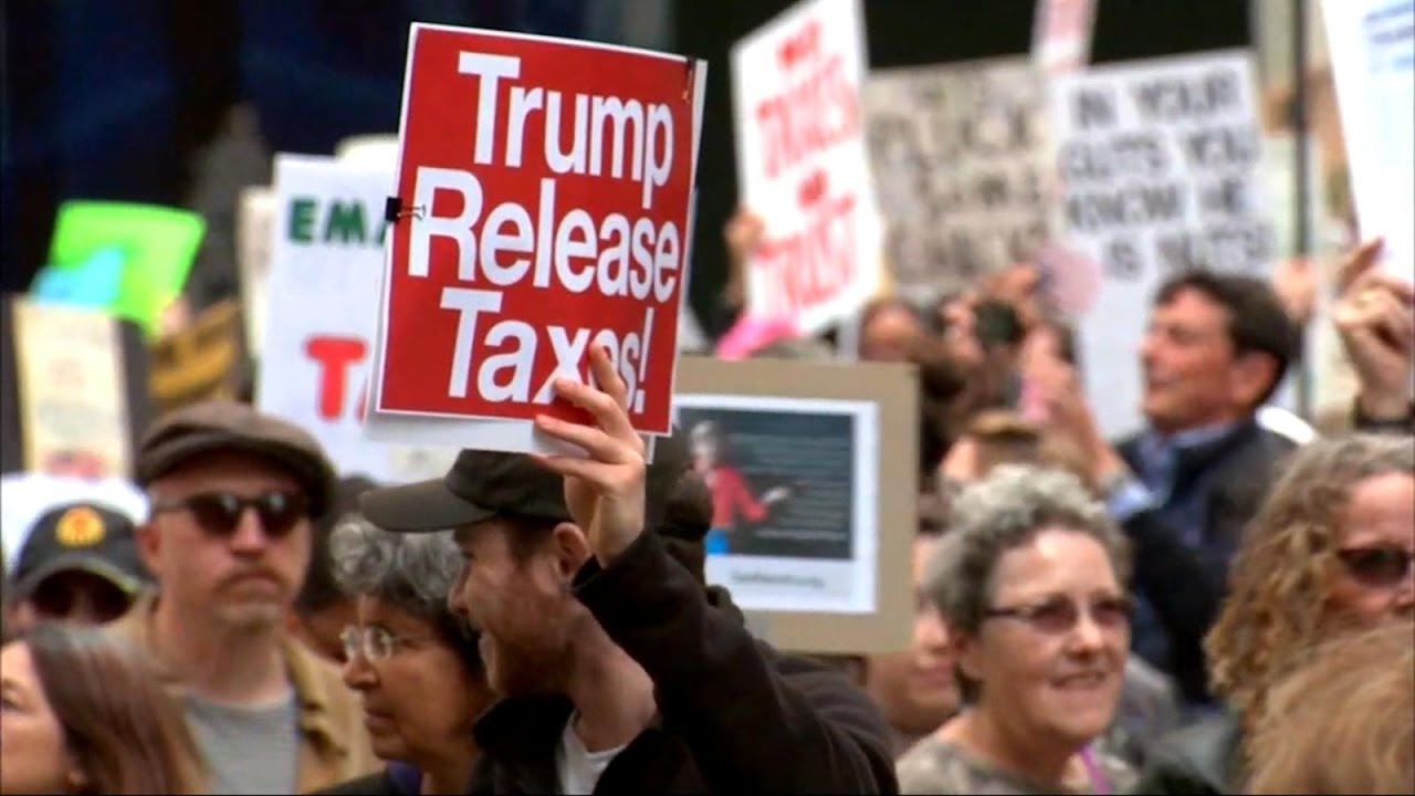 Protesters-rally-around-the-country-demanding-to-see-President-Trumps-tax-returns