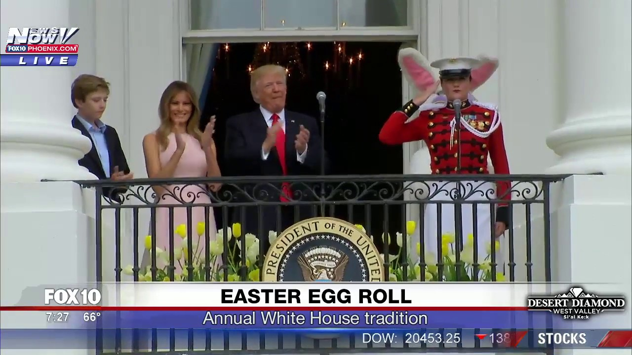 FNN-White-House-Easter-Egg-Roll-feat.-President-Trump-First-Lady-and-Barron-Trump