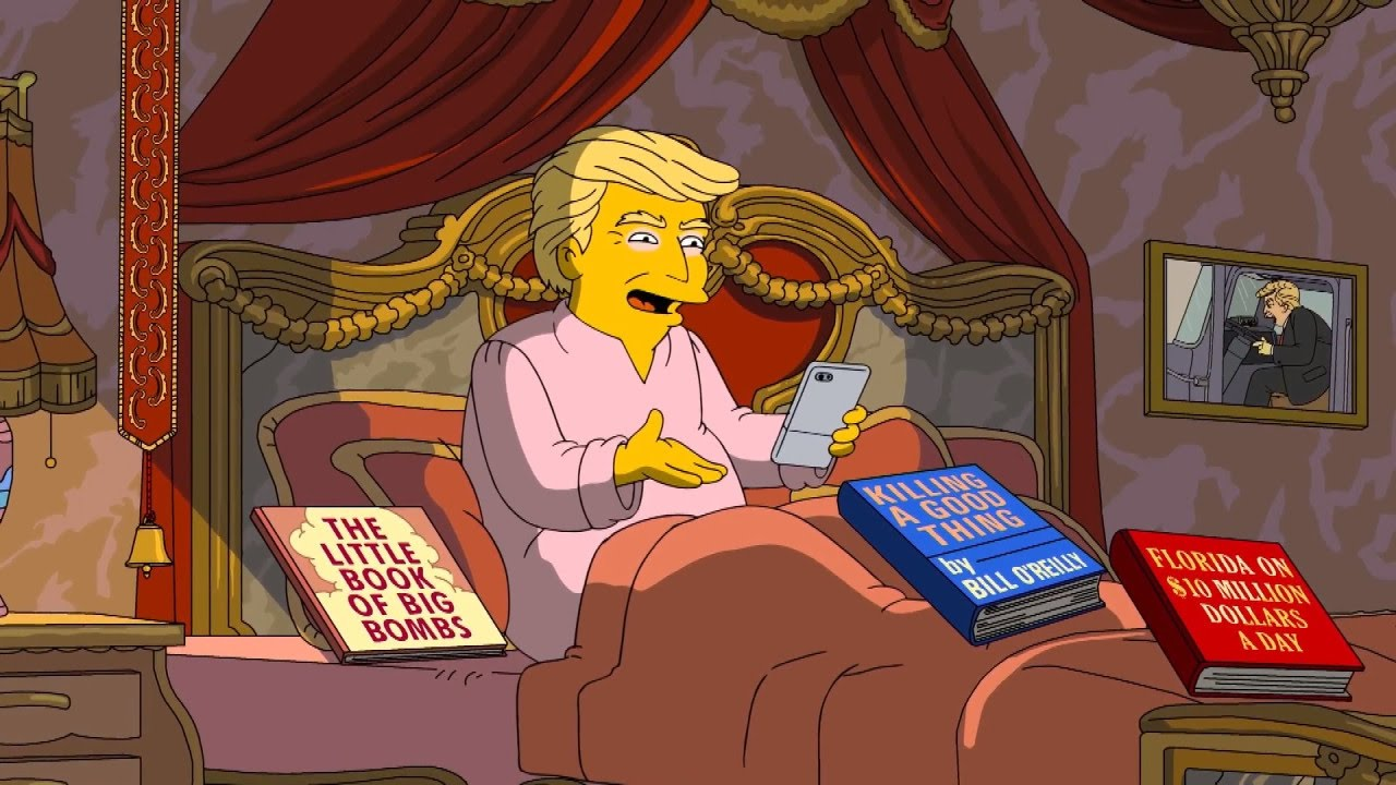 See-The-Gloom-Way-Simpsons-Depict-President-Trumps-First-100-Days