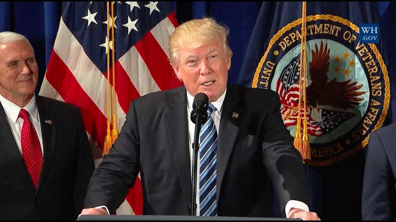 President-Trump-Signs-VA-Executive-Order-Improving-Accountability-Whistleblower-Protection-42717