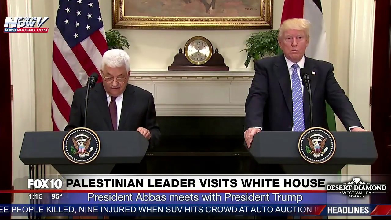 MUST-WATCH-President-Trump-and-Palestinian-President-Mahmoud-Abbas-Speak-at-White-House-FNN