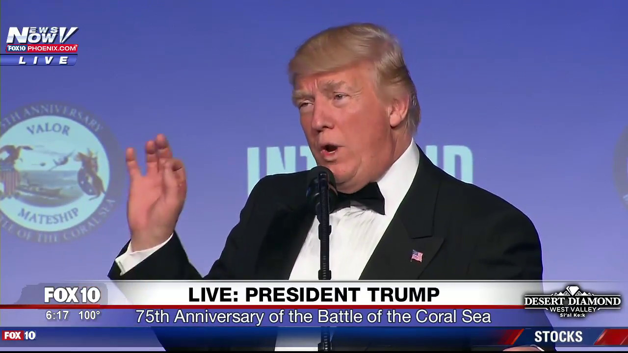 FULL-SPEECH-President-Trump-At-75th-Anniversary-of-Battle-of-the-Coral-Sea-FNN