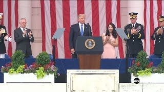 President-Trump-Memorial-Day-Speech-at-Arlington-National-Cemetery-5292017-FULL-EVENT