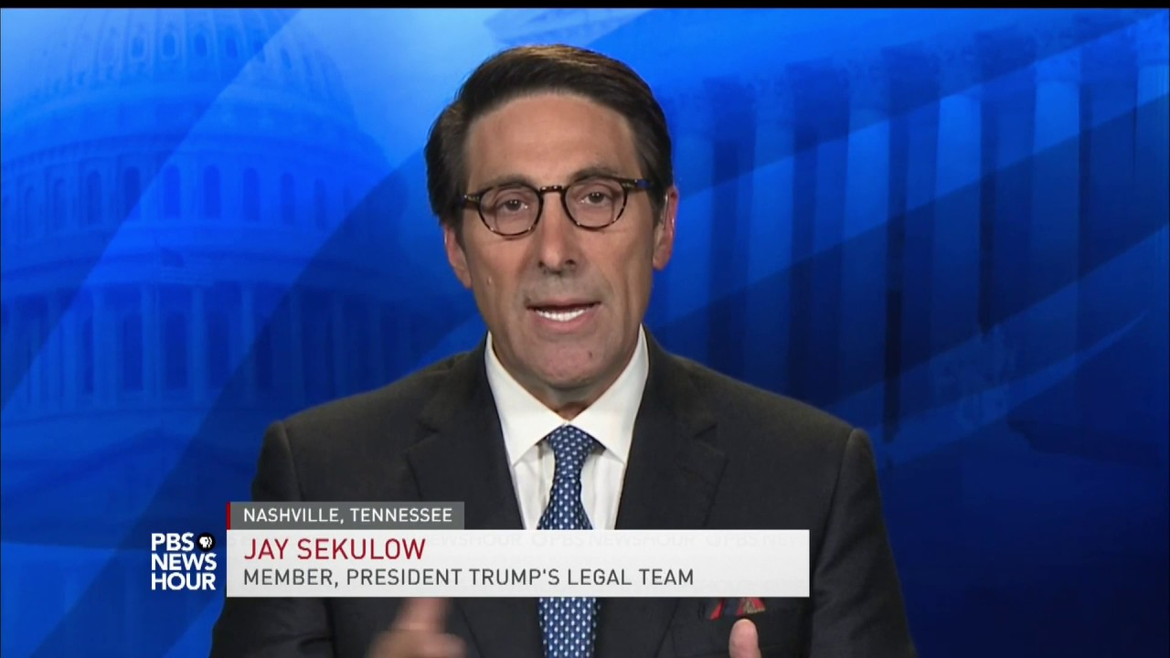 Trump-lawyer-No-information-that-the-president-is-under-investigation