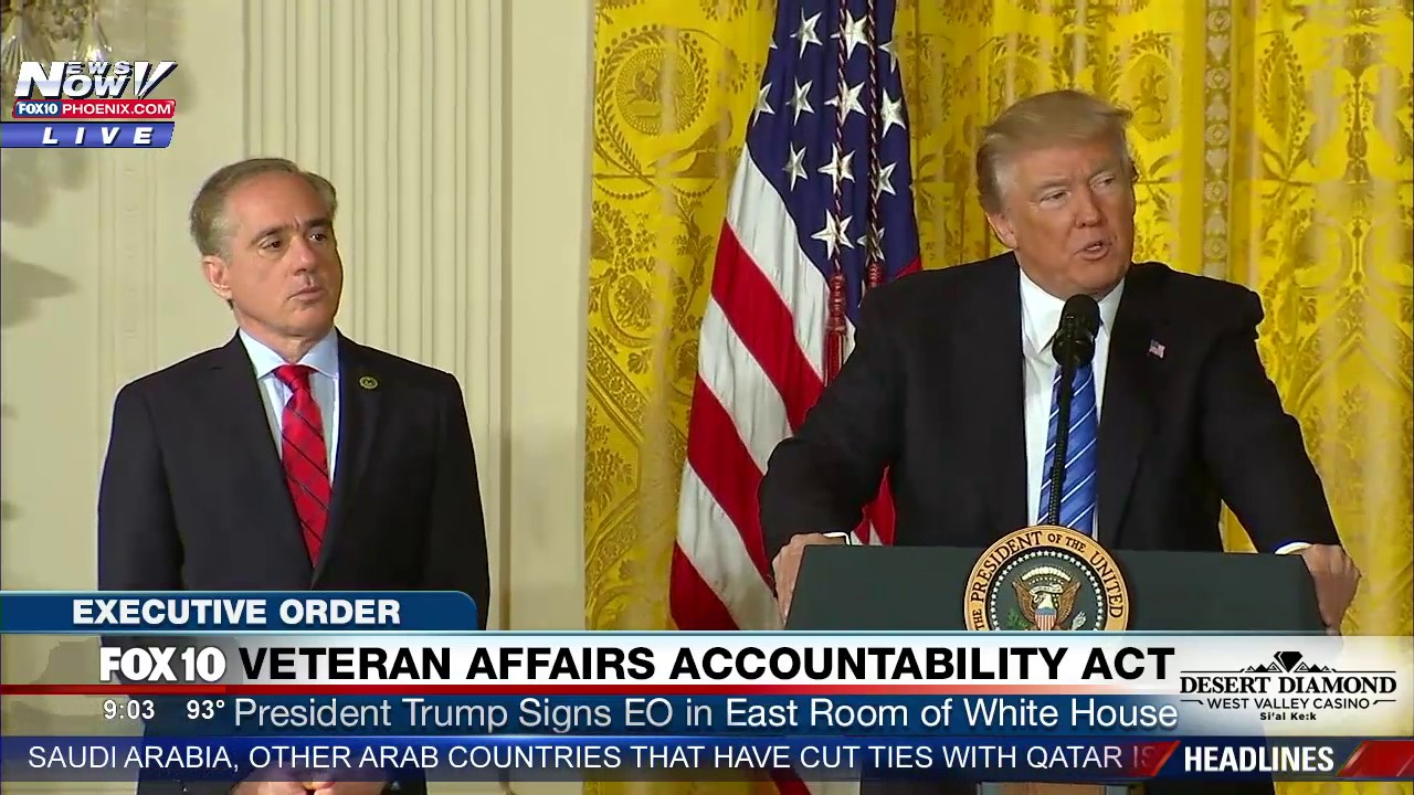 FNN-President-Trump-Gives-Speech-and-Signs-Veteran-Affairs-Accountability-Act-at-White-House