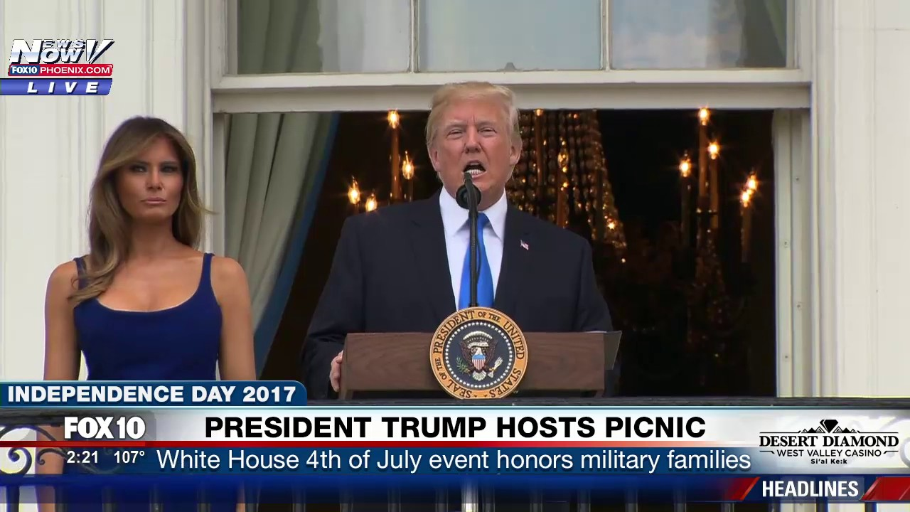 FULL-President-Trump-SPEECH-at-White-House-4th-of-July-Picnic-for-Military-Families