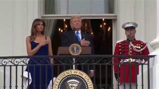 President-Trump-Full-Speech-to-military-families-in-July-4th-address