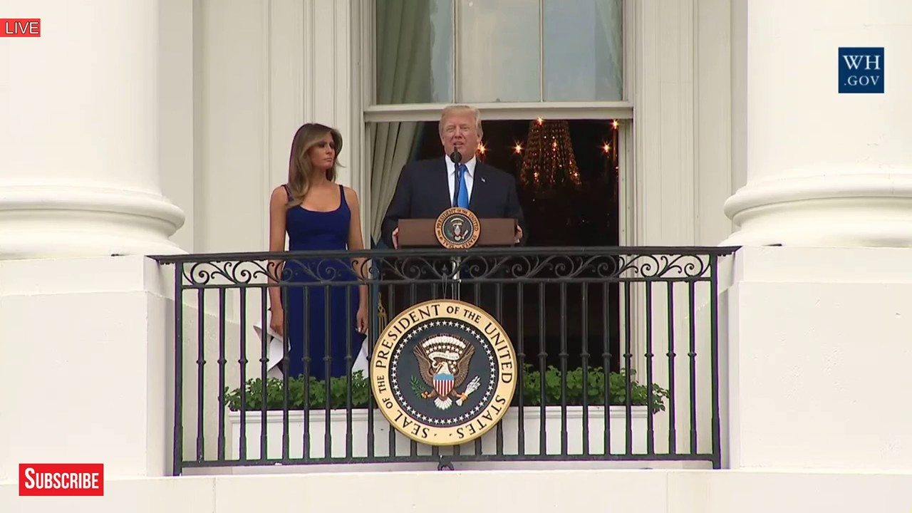 AMAZING-President-Donald-Trump-4th-July-Independence-Day-Speech-with-Melania-Trump-at-White-House