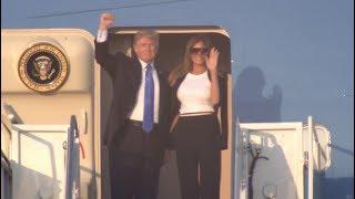 President-Trump-Melania-Receive-YUGE-Applause-Before-Departing-For-Paris-71217