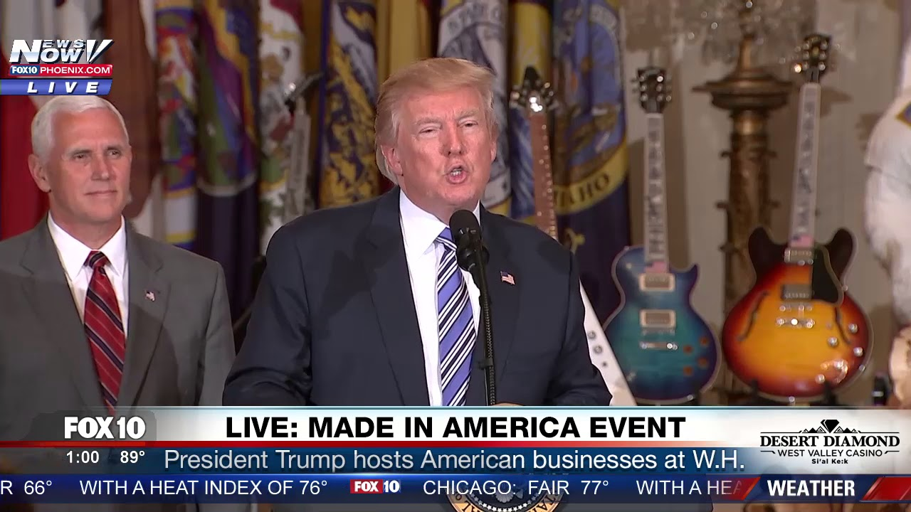 FULL-EVENT-President-Trump-Hosts-Made-In-America