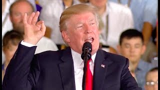 President-Trump-Brings-The-House-Down-w-a-Powerful-Speech-USS-Gerald-R.-Ford-Commissioning-722