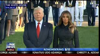 Powerful-President-Trump-and-First-Lady-Melania-Commemorate-9-11-Attacks-at-White-House