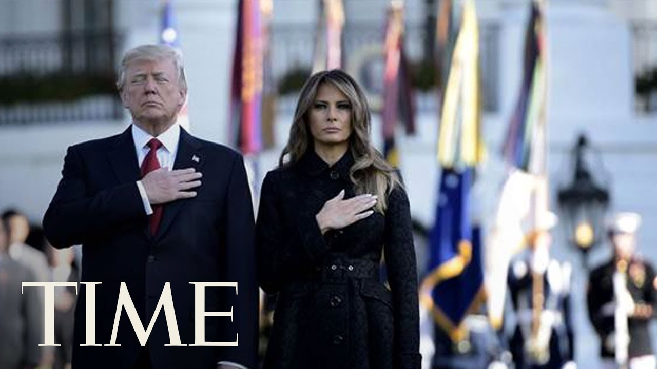 President-Donald-Trump-And-First-Lady-Participate-In-911-Observance-At-The-Pentagon