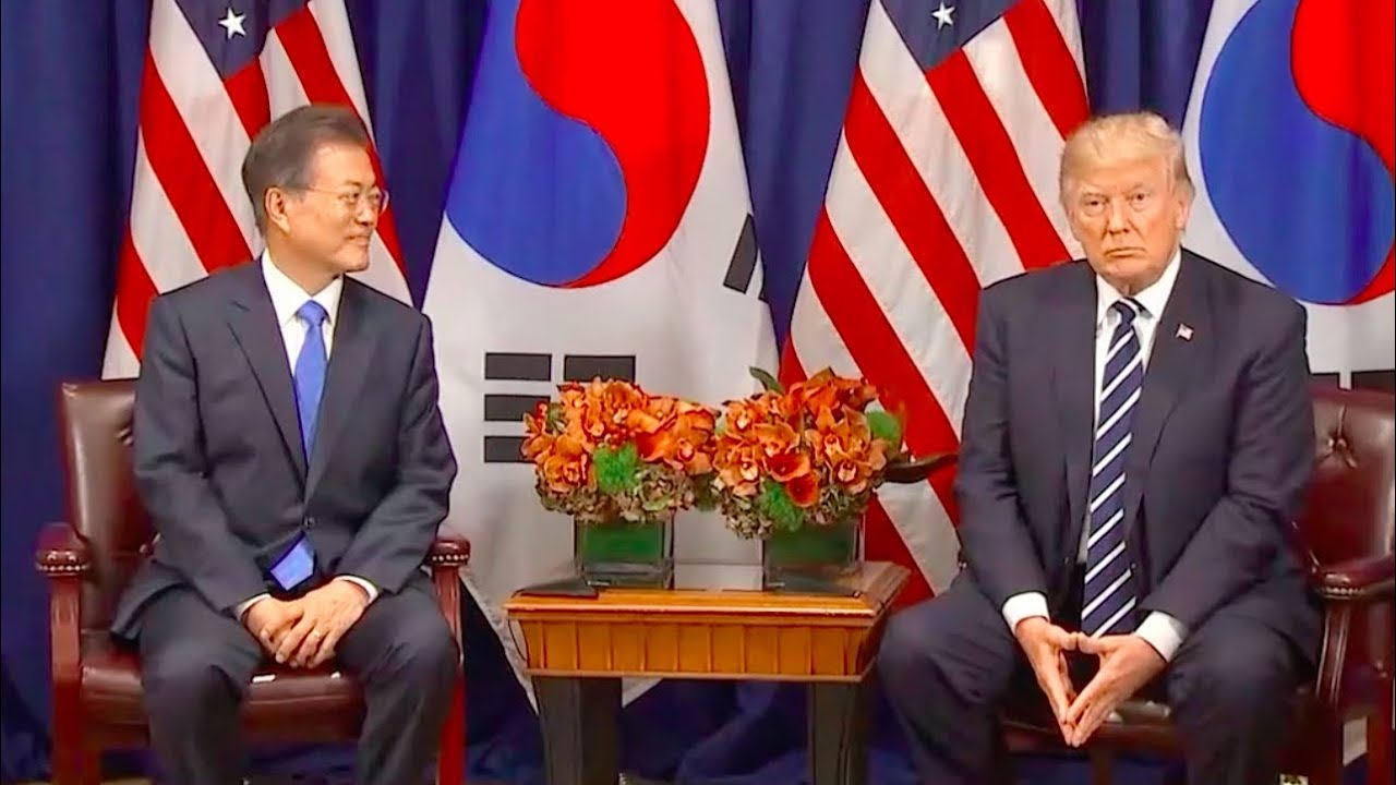 President-Trump-Meets-with-South-Korea-President-Moon-Jae-In-92117