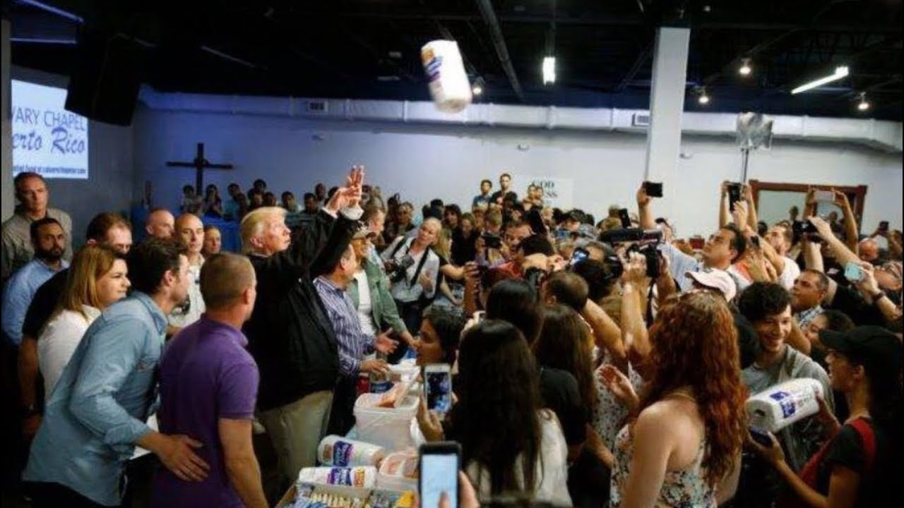 President-Trump-Hands-Out-Supplies-to-Hurricane-Victims-at-Church-in-Puerto-Rico-101317