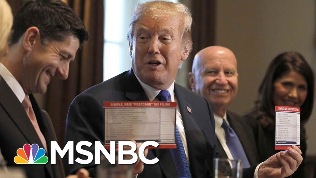 How-President-Trump-And-The-Rich-Will-Save-Big-Under-The-House-Tax-Plan