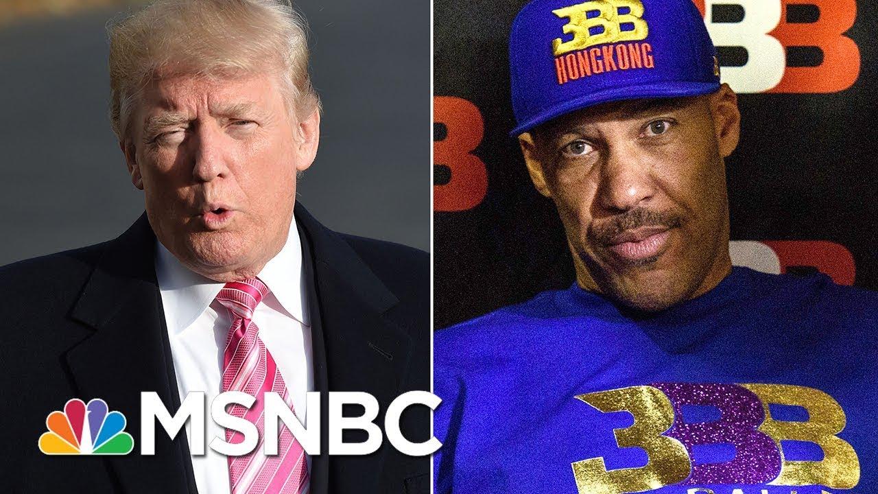 President-Donald-Trump-Tweets-LaVar-Ball-An-Ungrateful-Fool