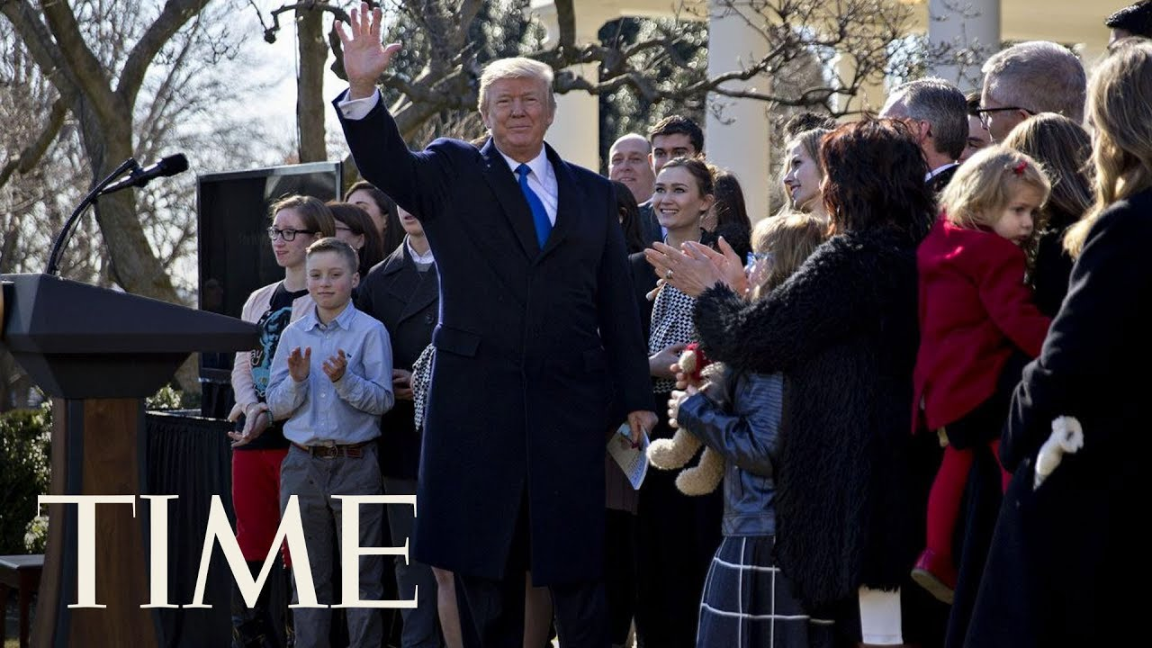 President-Donald-Trump-Speaks-At-Anti-Abortion-Event-March-For-Life
