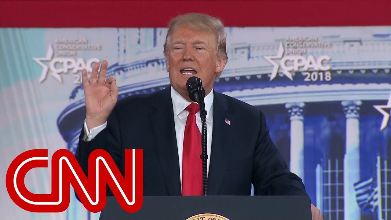 Image result for trump at cpac 2018  you tube