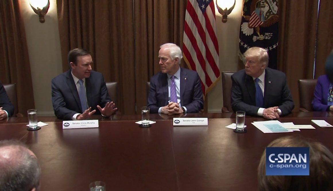 Exchange-between-Sen.-Murphy-President-Trump-on-gun-legislation-C-SPAN
