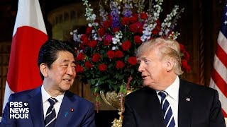 WATCH-President-Trump-holds-joint-news-conference-with-Japanese-Prime-Minister-Shinz-Abe