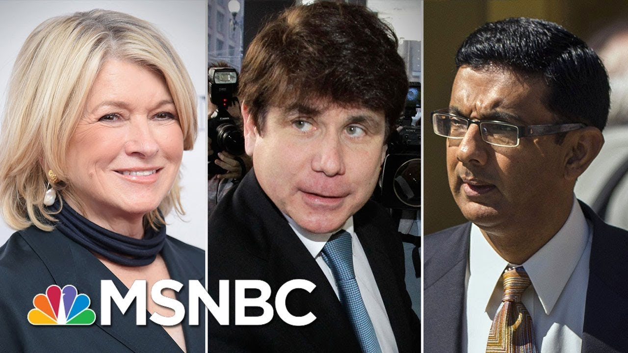 President-Trump-Considering-Pardons-For-Martha-Stewart-Rod-Blagojevich