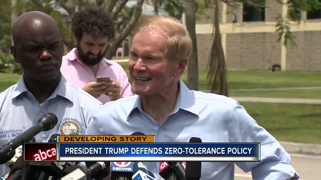 President-Trump-defends-zero-tolerance-policy