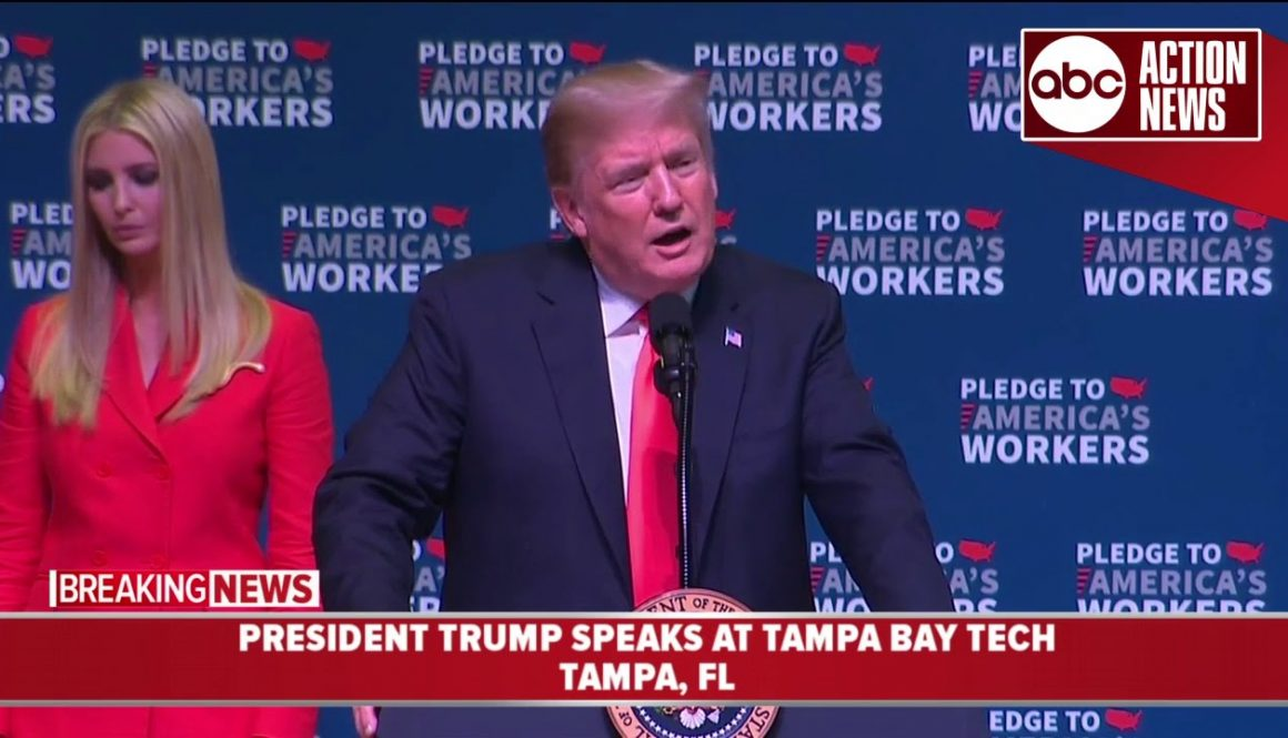 President-Trump-speaks-about-vocational-training-at-Tampa-Bay-Tech