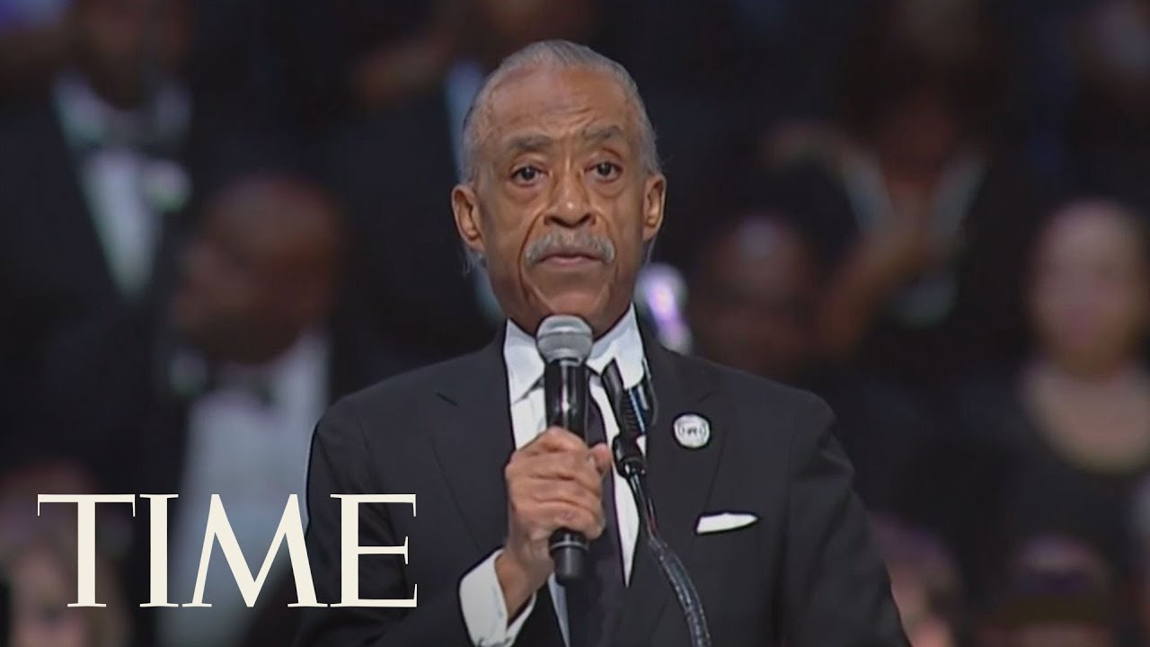 Rev.-Al-Sharpton-Makes-Comments-About-President-Trump-At-Aretha-Franklins-Funeral-Ceremony