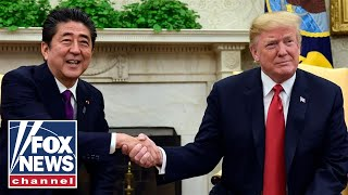 President-Trump-Japan-PM-Abe-hold-bilateral-meeting
