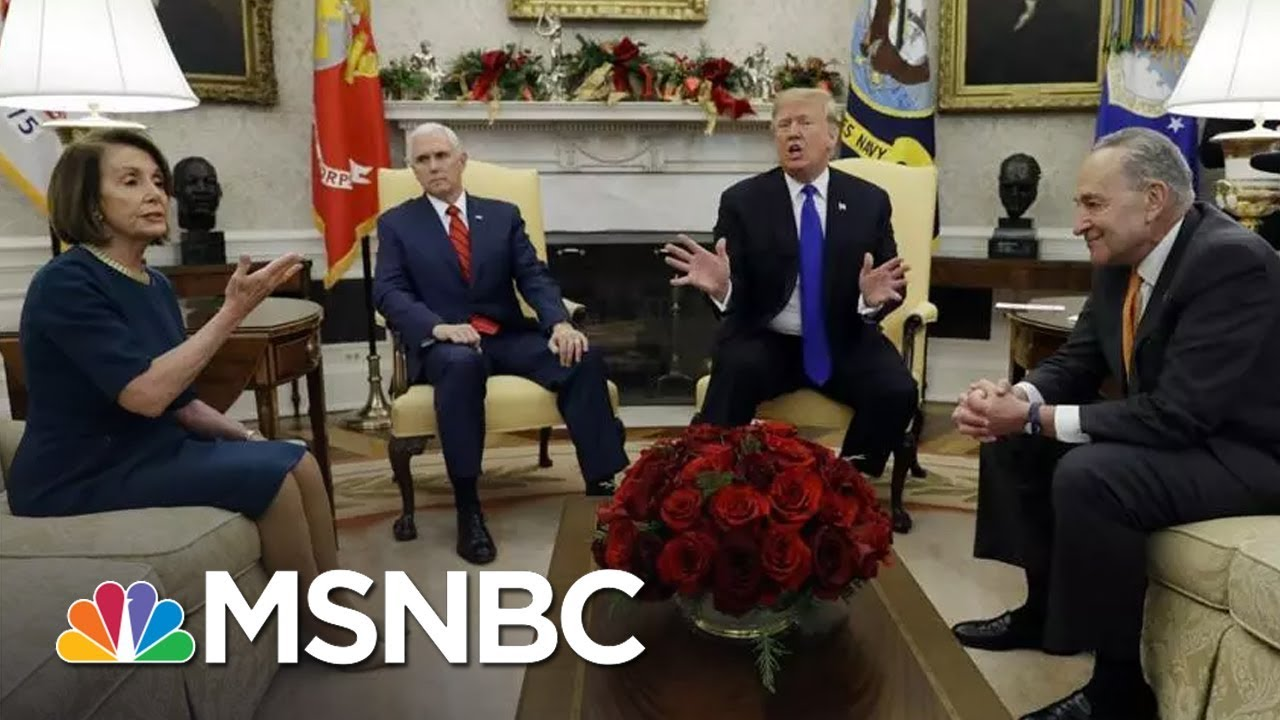 President-Trump-Threatens-Shutdown-In-Meeting-With-Pelosi-Schumer