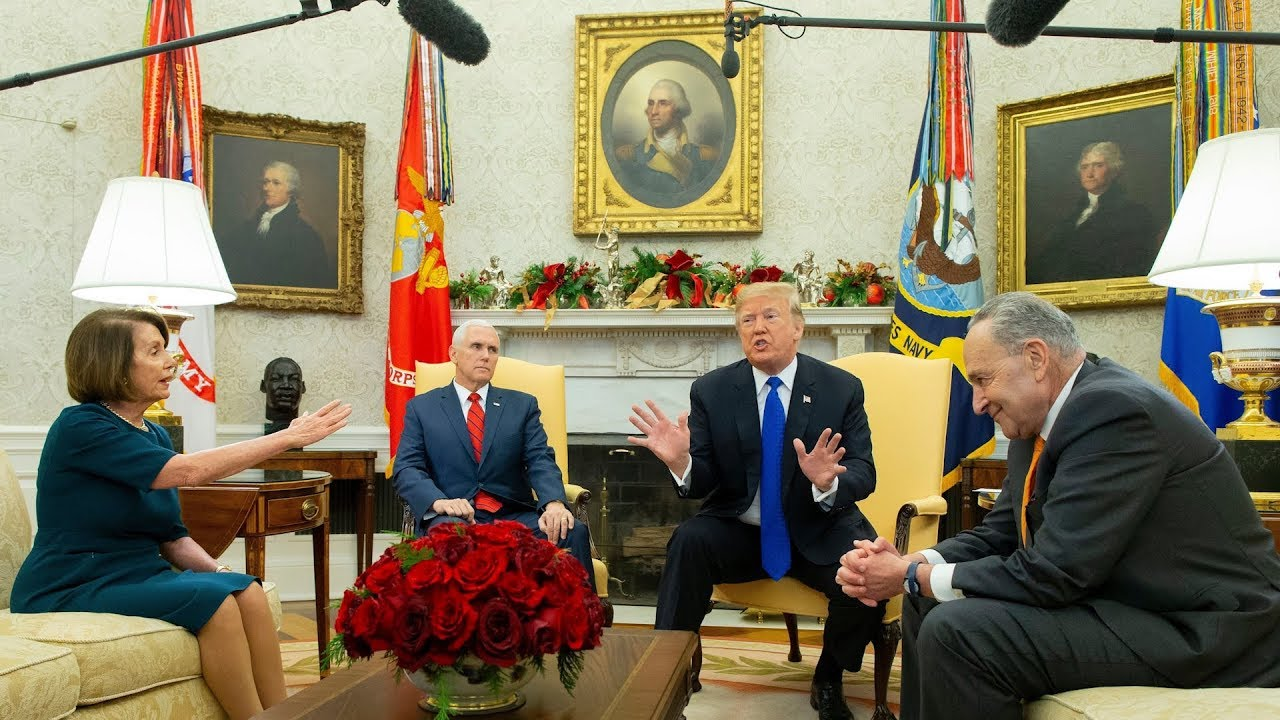 Trump-Vows-Government-Shutdown-in-Combative-Meeting-With-Top-Democrats
