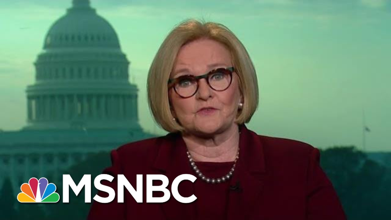 Leaving-Office-Sen.-Claire-McCaskill-Weighs-In-On-President-Trump-And-2020