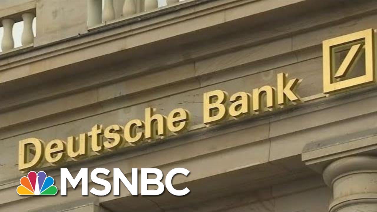 President-Donald-Trump-His-Extensive-Connections-To-Deutsche-Bank