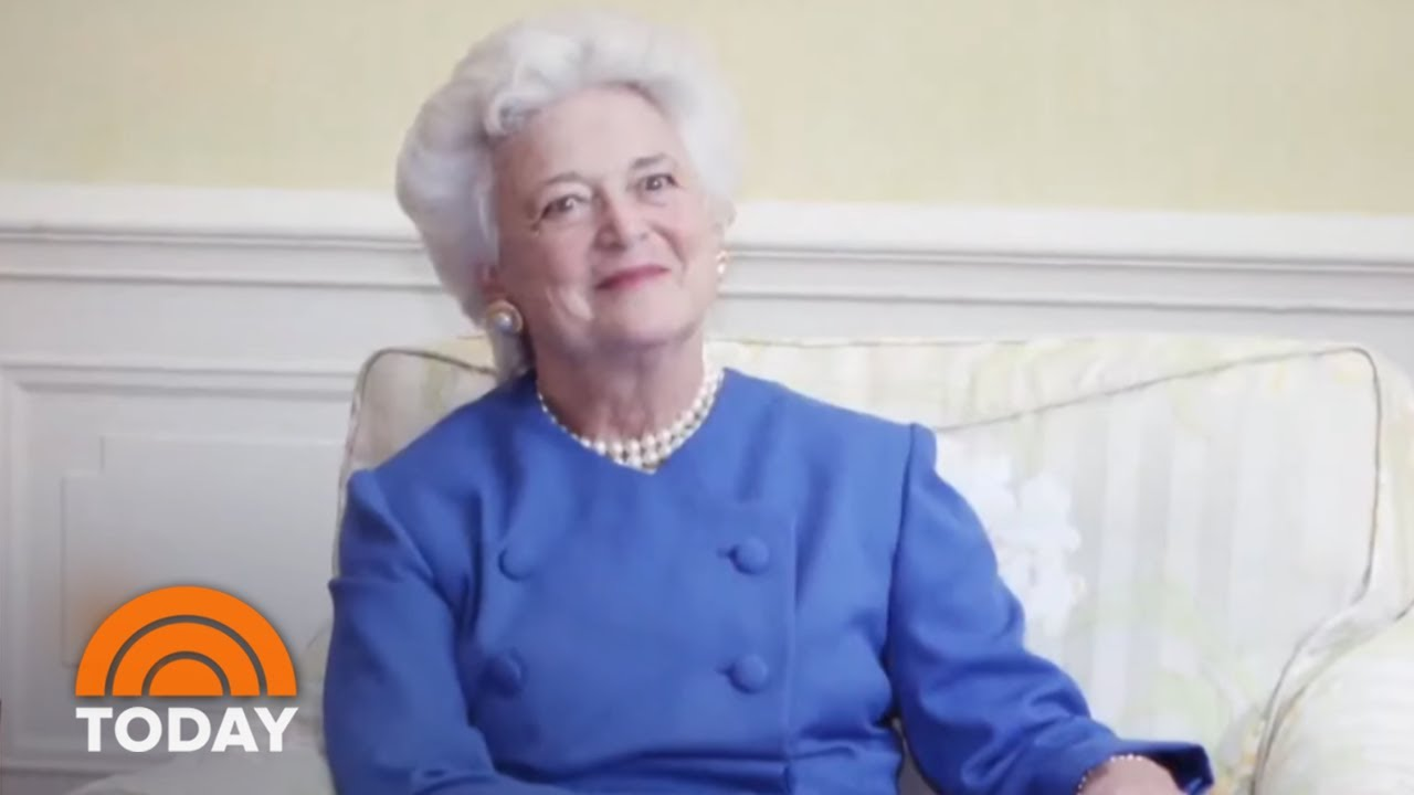 Former-First-Lady-Barbara-Bush-Blamed-President-Donald-Trump-For-Heart-Attack