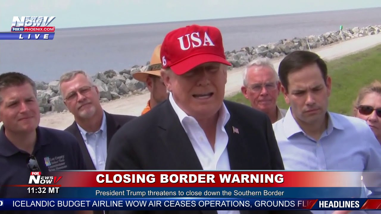 BREAKING-President-Trump-Threatens-To-SHUT-DOWN-Southern-Border