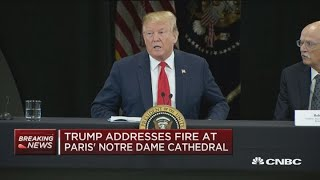 President-Trump-weighs-in-on-Notre-Dame-Cathedral-fire