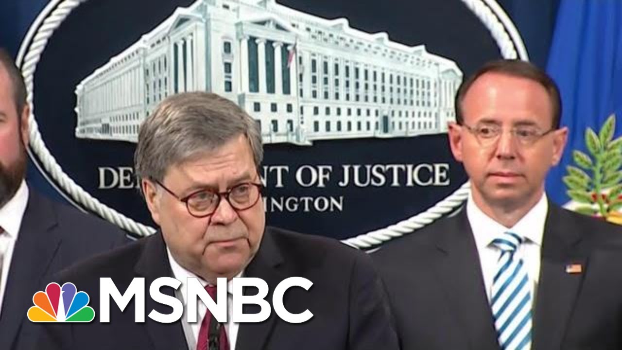 Attorney-General-Barr-Decided-His-Legacy-Took-One-For-President-Donald-Trump-Team