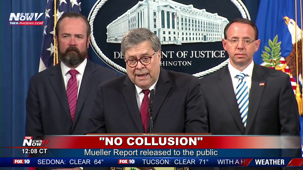 FULL-COVERAGE-Mueller-Report-No-Collusion-On-President-Trump